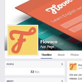 flovoco icon in context facebook