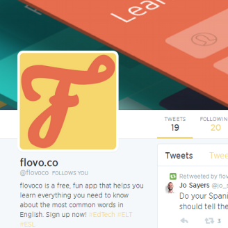 flovoco icon in context twitter